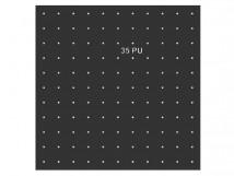 Трафарет для установки индикаторов через сверление, ГОСТ. 638 x 638 x 3 мм