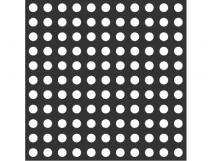 Трафарет для установки индикаторов, через приклеивание, ГОСТ 638 x 638 x 3мм