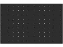 Трафарет для установки тактильных индикаторов посредством сверления, 550х850x3мм