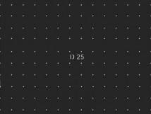Трафарет для установки индикаторов D25 в линейном порядке через сверление, тактильная зона 600х600мм