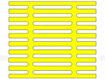 Трафарет для установки индикаторов посредством приклеивания