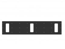 Трафарет для установки индикаторов через сверление, 950х210х3мм