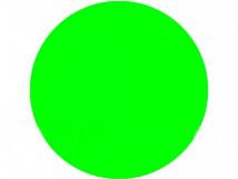 Круг для контрастной маркировки дверных проемов, 150мм, флуорисцентный