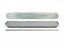 Тактильный индикатор из нержавеющей стали ПТ 12-35х280 (S304) l-0. 280 x 35 x 5мм