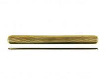 Латунный тактильный индикатор ПТ 12-35 х 280(латунь) l-0. 280 x 35 x 5мм