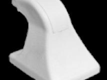 Кронштейн из ПВХ белого цвета