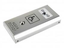 Антивандальная кнопка вызова персонала со звуковым сигналом AISI 304 185x96x29мм