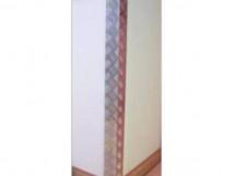 Защита углов стен (алюминий) 1000 x 75 x 75мм