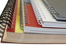 Брошюровка тактильных изданий формата А4 на металлическую пружину (до 30 листов)