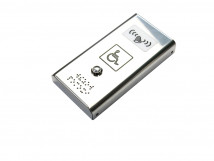 Антивандальная кнопка вызова персонала с вибрацией AISI 304 185x96x29мм