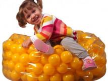 Пуфик с шариками для детей 10722. 43мм