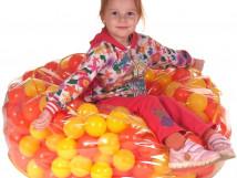 Пуфик с шариками для детей 10721. 43мм