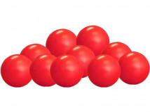 Шарики для сухого бассейна цвет красный диаметр 7,5см
