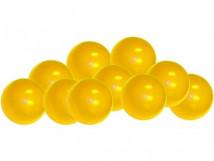 Шарики для сухого бассейна цвет желтый диаметр 7,5см, в коробке 320 шт