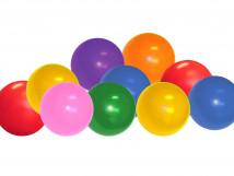 Набор шариков для сухого бассейна (разноцветные) 10738