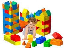 Развивающий конструктор-гигант для малышей 10741