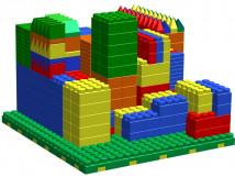 Конструктор-гигант «Архитектор-3» для детского сада
