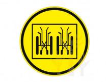 Пиктограмма G-16 Осторожно! Транспортирование и хранение кресел-колясок только в сложенном виде
