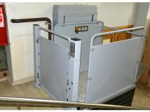 Vimec S11. Стационарный вертикальный подъемник (платформа)