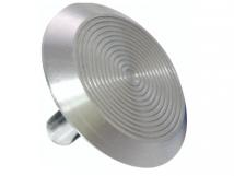 Алюминиевый тактильный индикатор КТ 08(AL) l-15. 25 x 25 x 5мм