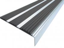Алюминиевый угол с тремя вставками 98 мм/6,5 мм/22,4 мм