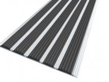 Алюминиевая полоса с пятью вставками 162 мм / 6 мм