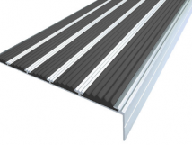 Алюминиевый угол с пятью вставками 160 мм / 6 мм / 30 мм