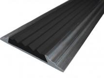 Алюминиевая накладная полоса 46 мм/5 мм на саморезах