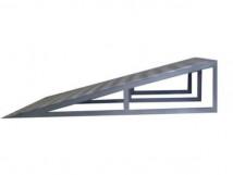 Пандус подставной усиленный H150/ 150 х 1000 x 900мм