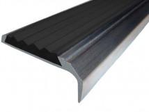 Алюминиевый накладной угол-порог 42 мм/23 мм на саморезах