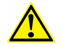 W 09 Внимание. Опасность
