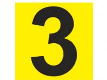 Тактильные номера для маркировки этажей и площадок, тактильные цифры с светонакопительной подложкой