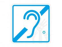 Пиктограмма G-03 Доступность для инвалидов по слуху